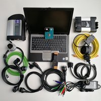 computadores portáteis preços venda por atacado-Melhor Preço 2em1 Laptop usado ferramenta Computer D630 Car Diagnóstico + Mb Estrela C4 SD Ligação C4 SD Compact 4 + Para BMW ICOM PRÓXIMO + 1TB HDD