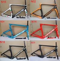 Wholesale free carbon bikes resale online - Cipollini NK1K Carbon Frame Road Bike Frameset T1000 K racing bicycle frame Mcipollini NK1K frames
