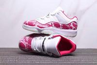 baskets roses pour hommes achat en gros de-11 Baskets baskets roses pour femmes, chaussures de basket-ball, entraîneur 2019 TOP Version hommes