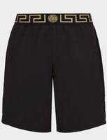 calça homem marca venda por atacado-Homens Calções Marca Meng Kou Calças Dos Homens Troncos Board Shorts De Natação de alta qualidade Marca de Moda Esporte Calças Curtas Corredores