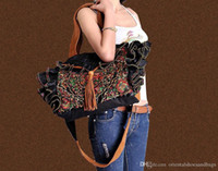 Wholesale chinese floral art resale online - 100 Handmade Handbag Purse Drawstring Shoulder Bag Fine Oriental Embroidery Art