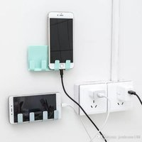 Wholesale phone stabilizer resale online - 2019 new Mobile Phone MP3 Wall Charger Stand Holder Support Charging Rack Shelf Tablet