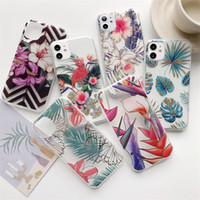 Wholesale hot se resale online - Hot Selling Flower Designs Phone Case for iPhone Pro XS Max XR X Plus New SE mobile cover