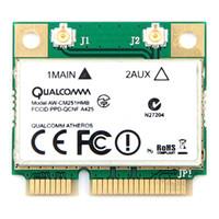 mini-cartas sem fio venda por atacado-Cartões de rede Dual-Band Wireless-AC Qualcomm Atheros QCA9377 Cartão sem fio Wi-Fi Mini PCI-E Bluetooth WI-FI 802.11 ac + Bluetooth 4.1 até 4 ...