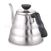 Wholesale can watering pot resale online - Coffee Pots Kettle Stainless Steel Long Mouth L Watering Cans ZX A105 Hot Water Bottle Coffee Hand Punching Machine