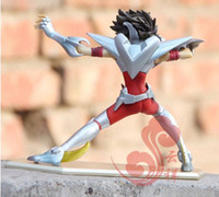 figuras de acción saint seiya al por mayor-Acción Grandes juguetes PTC Saint Seiya Cloth Myth Ex Hyoga Cygnus V3 One Piece Anime Cartoon Figura de acción