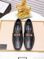 лучшие случайные бездельники оптовых-Best Mix 22 Модель Мокасины ручной работы Роскошная обувь Патентная обувь Офисная обувь Роскошные туфли Повседневная обувь для мужчин Одежда Well Oxford