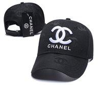 gorras de hip hop para niñas al por mayor-¡Caliente! Moda 2018 baratosombreros para mujer Chanel Muchacha de lujo sombrero ajustableDiseñador de tapas tapas hop del snapback del béisbol de la cadera