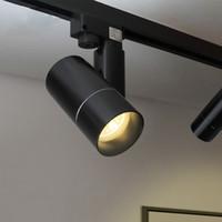 spot ışık odası toptan satış-DHL Modern LED Parça Odası Dükkanı Living COB Tavan Lambaları 360 + 180 Açı Ayarlanabilir AC85-260V 5 / 7W Işıklandırma Spot