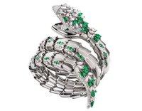 ingrosso anno dei gioielli-Braccialetti di lusso con serpente per donna Gioielli di lusso Compleanno San Valentino Regalo di Capodanno