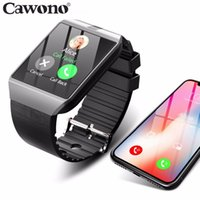Wholesale relogio camera resale online - Bluetooth Smart Watch Smartwatch DZ09 Android Phone Call Relogio G GSM SIM TF Card Camera for iPhone Samsung HUAWEI PK GT08 A1