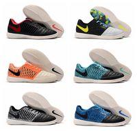 mens kapalı futbol toptan satış-2019 erkek futbol ayakkabı Ay Gato II IC kapalı futbol cleats scarpe da calcio ucuz futbol çizmeler düşük ayak bileği 2