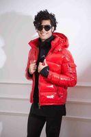 casacos de penas pretas venda por atacado-Homens Desportos MAYA Coats Casual Down Jacket Branco Duck Down Coats Mens Outdoor Quente Feather Man Casaco de Inverno outwear Casacos Parkas vermelho / preto