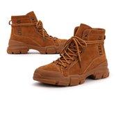 kanisterstiefel großhandel-Martin Stiefel Frau Han-Ausgabe britischen Wind Martin Stiefel 2019 neue Winter Mode Schuhe kurze Kanister Stiefel
