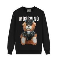 ingrosso coppie orsacchiotti-MOSCHIN O cartoon love bear teddy bear sciolto europeo e americano coppia maglione girocollo uomo e donna