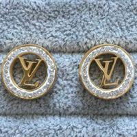 ohrringe ohrstecker 18k vergoldet großhandel-2019 Top Qualität Modedesigner Ohrringe Vergoldet Luxus Ohrstecker V Stempel Edelstahl ohrringe Für Frauen Großhandel
