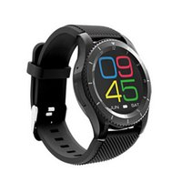Wholesale men's sport watches for sale - New G8 Round Screen Heart Rate Blood Pressure Smart Watch For IOS Android Sport Men s Watches Clock Woemn Clock Dropshipping