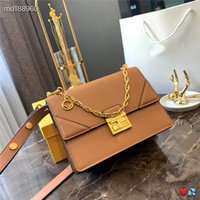 Wholesale single chain bucket resale online - Designer handbags FD brand crossbody messenger shoulder bags chain bag good quality pu leather tote clutch single shoulder bags