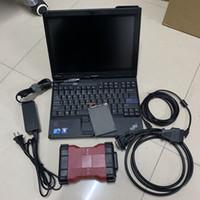 ids escáner de diagnóstico al por mayor-VCM2 For Ford para Mazda Herramienta de diagnóstico de auto VCM II VCM IDS VCM II Chip completo con laptop x200t Diagnóstico automático