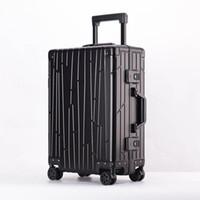 ingrosso bagagli in lega-Racconto da viaggio 100% in lega di alluminio e magnesio. Valigia per trolley da viaggio