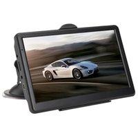 Wholesale car gps online - Car Gps Navigator Inch Voice Navigation System Hd Press Screen Gb Built In Memory Running Memory Driving Navigator
