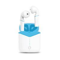 x mini cargador al por mayor-p20 auricular de Bluetooth Sport Auriculares de auriculares inalámbricos Mini TWS Auriculares inalámbricos soportar el cargador para el iphone 7 8 x auriculares de Huawei