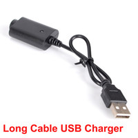 Wholesale battery cord for sale - eGo Max battery VV vape pen USB Charger Cable Cord Adapter Mix2 preheat Battery Charger Compatible Vaporizer Pen USB charger