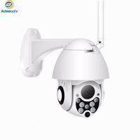 zoom wifi à prova de água venda por atacado-À prova d 'água mini ip wifi PTZ câmera 4X zoom digital HD 1080 P resolução real P2P wireless dome câmera de segurança ao ar livre câmera de segurança CCTV