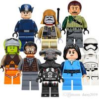 emperyal oyuncak toptan satış-Uzay Savaşları Ilk Sipariş Memuru Boba Fett Imperial Engizisyoncu Kanan Jarrus Stormtrooper Çocuk Hediyelik Oyuncaklar PG8066