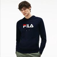 rollkragenpullover für männer großhandel-2019 Frauen FILA Hoodie Europa und den Vereinigten Staaten Klassische Mode Luxus Rollkragen Sweatshirt Casual Frauen Männer Kapuze 5 Farben