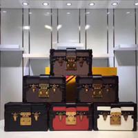 ingrosso sacchetti di frizione moda in scatola-Borsa di frizione del messaggero della scatola di modo della borsa della borsa di cuoio di qualità eccellente della borsa della borsa del frizione del progettista all'ingrosso delle borse originali di sera