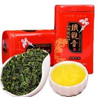 ingrosso cravatte cinesi-Vendita calda Superiore regalo per tè Oolong TiKuanYin pacchetto organico cinese del tè verde Anxi Tie Guan Yin nuovo tè in scatola Peso netto 150g