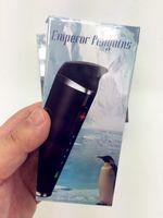 Wholesale g pen starter resale online - 100 original Emperor Penguins vaporizer dry herb vaporizer pen pro dry herb herbal vape g starter kit kits herbal vapor