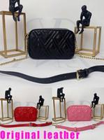 deri yapımları toptan satış-Çanta tasarımcısı SOHO DISCO Çanta Hakiki Deri püskül fermuar Omuz çantaları kadın Crossbody çanta Koyun üretimi Kutusu ile Gel