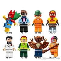 Wholesale kites toys resale online - Super Heroes Batman Robin Riddler Scarecrow Bruce Wayne Kite Man Man Bat Two Face Children Toys PG8042