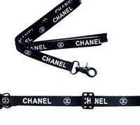 Wholesale designer dog collars leashes for sale - Group buy C Letter Print Dog Collars Cat Pet Chest Back Band Suit Outdoor Dog Safety Products Designer Leashes QWE2