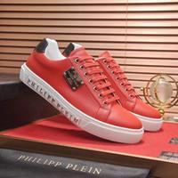 ingrosso tendenze in gomma scarpe-Scarpe da uomo Casual Piattaforma di calzature traspirante Trend Scarpe da uomo in pelle di grande dimensione in gomma