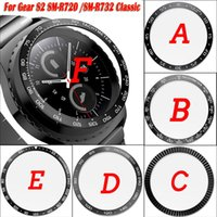 Wholesale gear cases for sale – best For Samsung Gear S2 SM R732 Classic SM R720 Sport Galaxy mm Bezel Ring Styling Case Adhesive Cover Protection Ringke Bezel