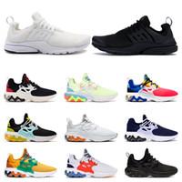 chaussures de toile hommes 11 achat en gros de-presto shoes Nouvelle arrivée presto chaussures de course triple noir blanc hommes femmes formateurs Sneakers de sport confortables respirant hors taille 5.5-11