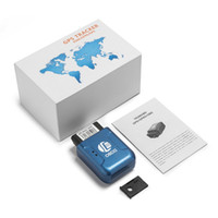 porzellan handy großhandel-TK206 OBD2 GPS GPRS Echtzeit Tracker Auto Fahrzeug Tracking System Mit Geofence Schützen Vibration Handy SMS Alarm Alarm