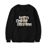 conseguir ropa al por mayor-Marca de moda O-cuello con capucha para hombres Ropa de adolescente Vamos a comenzar Letras Suéteres de lana