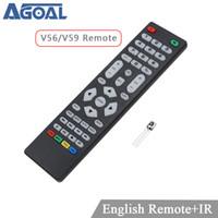 ingrosso solo telecomando-universal remote 59 56 Skr.03 telecomando universale con ricevitore IR per LCD scheda di controllo del driver utilizzare solo per V59 V56 3463A DVB-T2