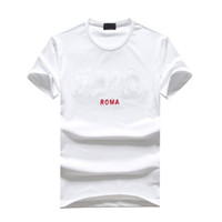 Wholesale mens cool casual shirts for sale - Group buy 19SS Summer Edition Mens Designer T Shirts Cotton Tee New The New Summer Cool Clothes Large Size Black Cotton T Shirts