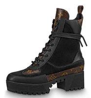 stiefel fersen kleid großhandel-1a4xxt New Laureate Desert Boot Damen Boot Reiten Regen Stiefel Booties Sneakers High Heels Lolita Pumps Kleid Schuhe