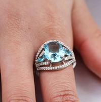 feines paar ring groihandel-Lady Mode Pinky Ring neue modische feine Hochzeit Schmuck Paar Ringe Hochzeit Geschenk Hight Qualität Mode