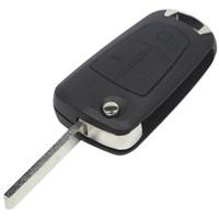 vauxhall astra key affaire achat en gros de-3 Boutons Basculer À Distance Pliant Clé De Voiture Couverture Fob Cas Shell Style Cas Pour Opel Corsa Astra Vectra Signum