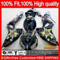 Wholesale star honda for sale - Group buy Injection OEM For HONDA Golden stars CBR1000 RR CBR RR Body HC CBR CC RR CBR1000RR Fairings Fit