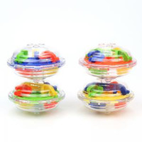 Wholesale intellect toys for sale - 36 Barriers D Labyrinth Magic Intellect Ball Balance Maze Perplexus Puzzle Toy Puzzle Maze Ball Magic Novelty Toys AAA1581
