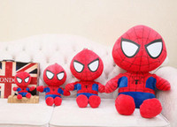 Wholesale avengers stuffed animals resale online - Avengers dolls cm Super soft short plush series cut Stuffed Animals plush toys Christmas and birthday gifts for kids