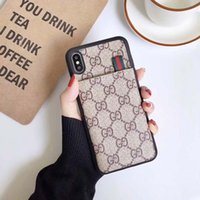 Wholesale Luxury Designer Phone Cases Fashion Phone Cases for Max XS XR PU leather A76